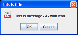Screenshot of confirm dialog