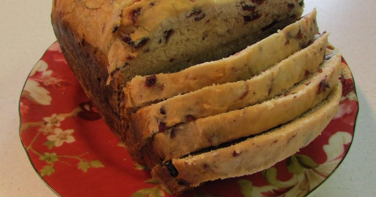 cranberry bread in bread machine