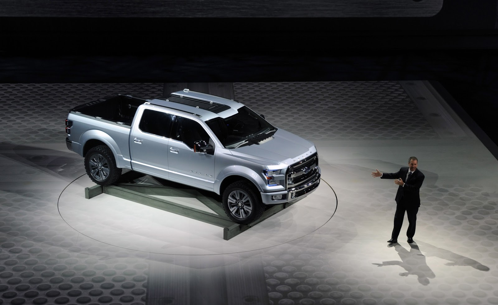 New Ford F-150 for 2015: Atlas Concept