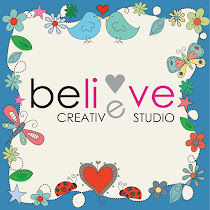 Believe creative studio website