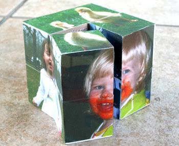 How to make a Magic Folding Photo Cube
