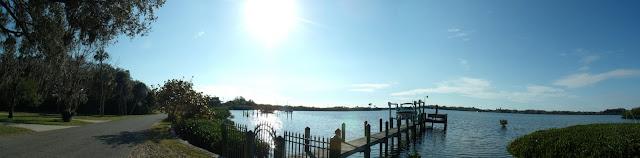 Terra Ceia Bay desde la Palm View Drive