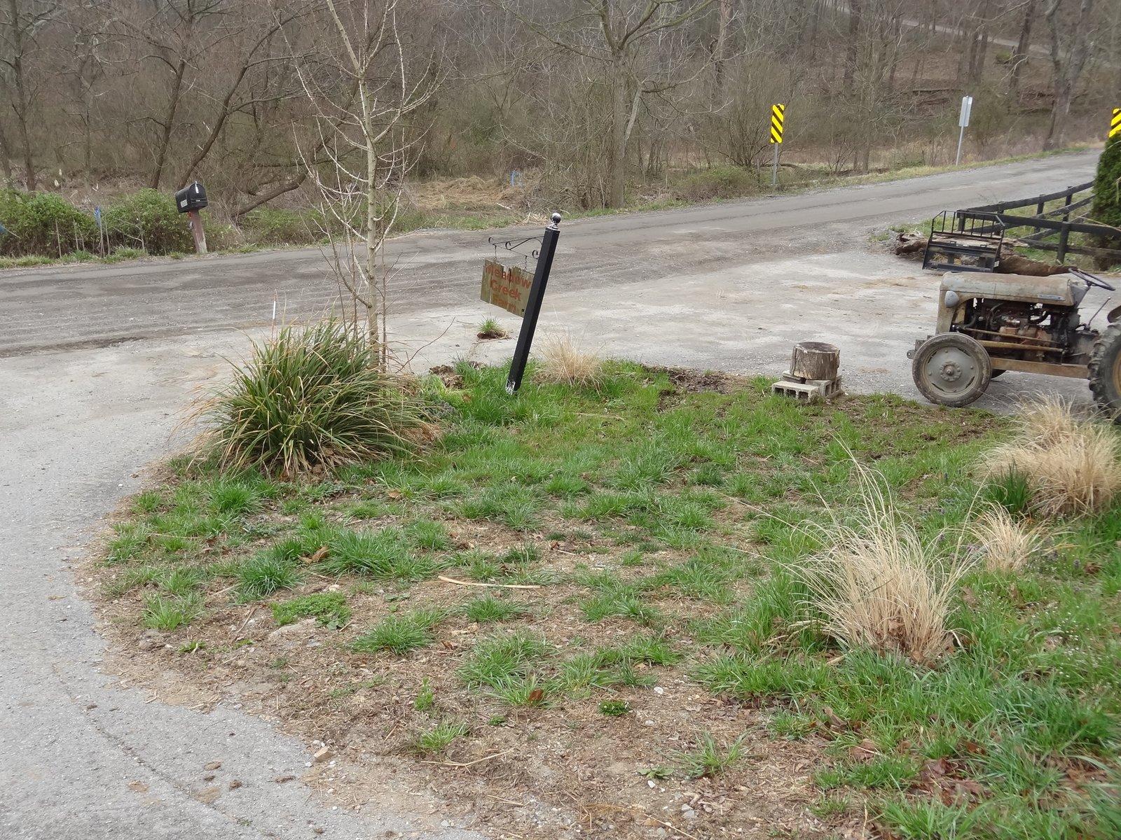 Meadow Creek Farm A New Sign For Meadow Creek Farm Part 1