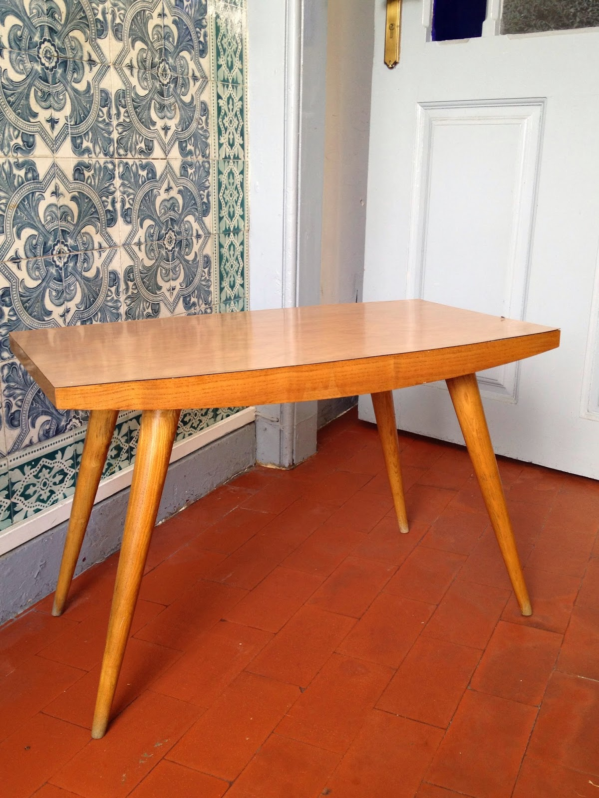 anos 50, vintage, mesa de apoio, coffee table