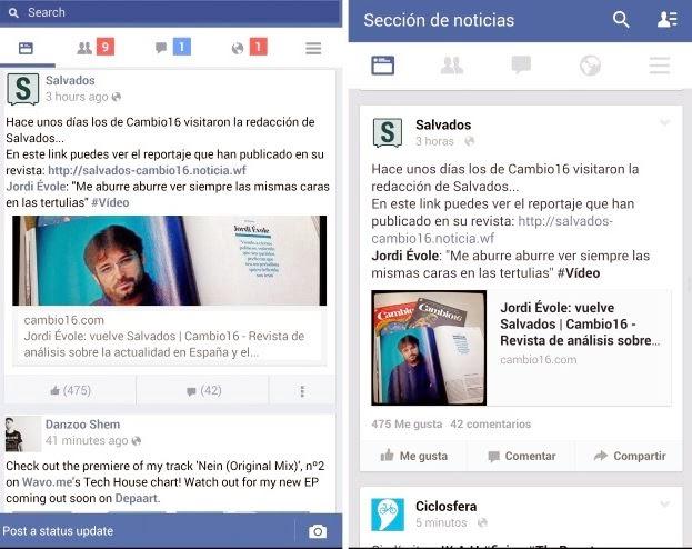lite facebook