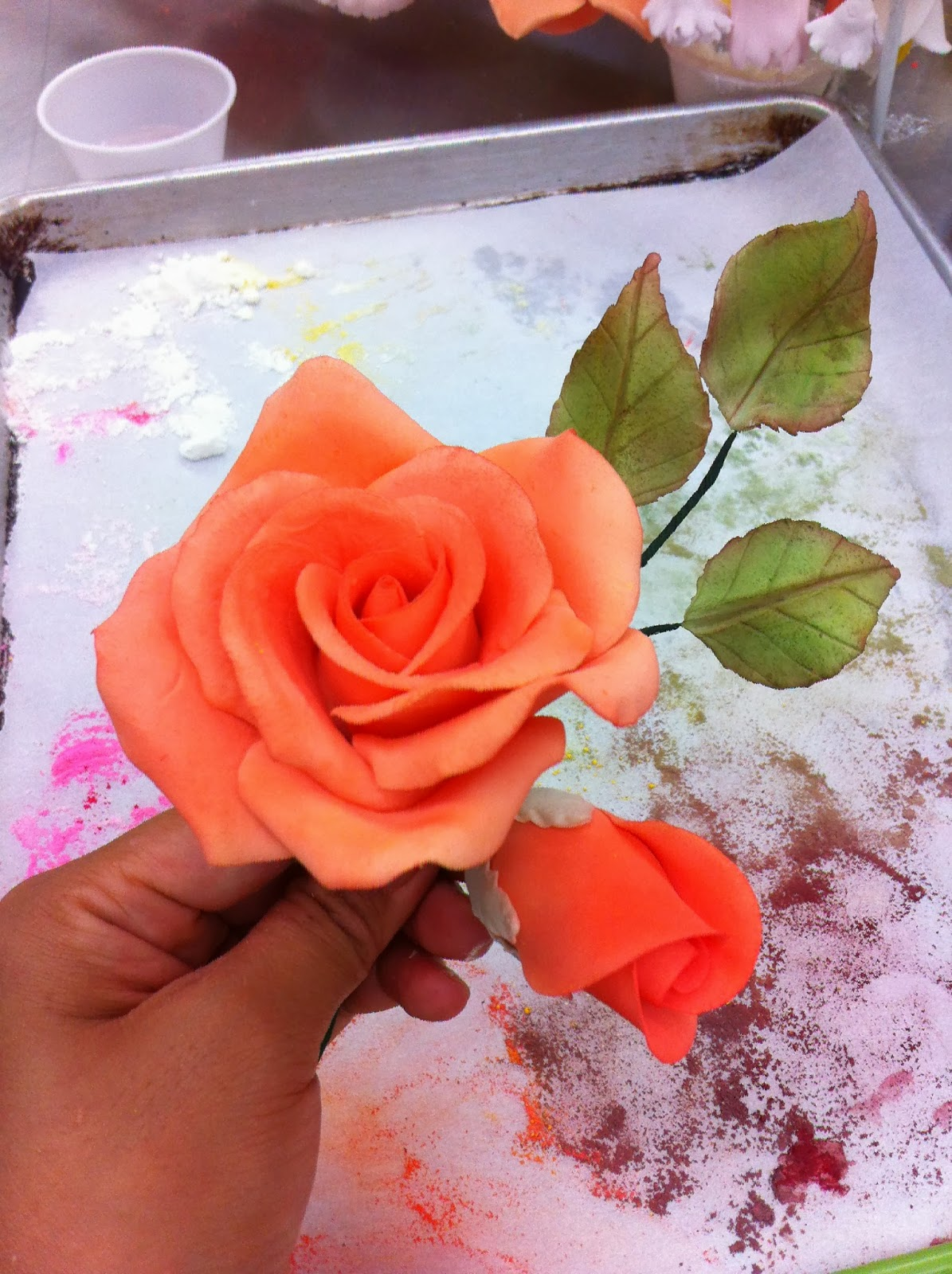 Abs of Cakes: Sugar Paste Flowers
