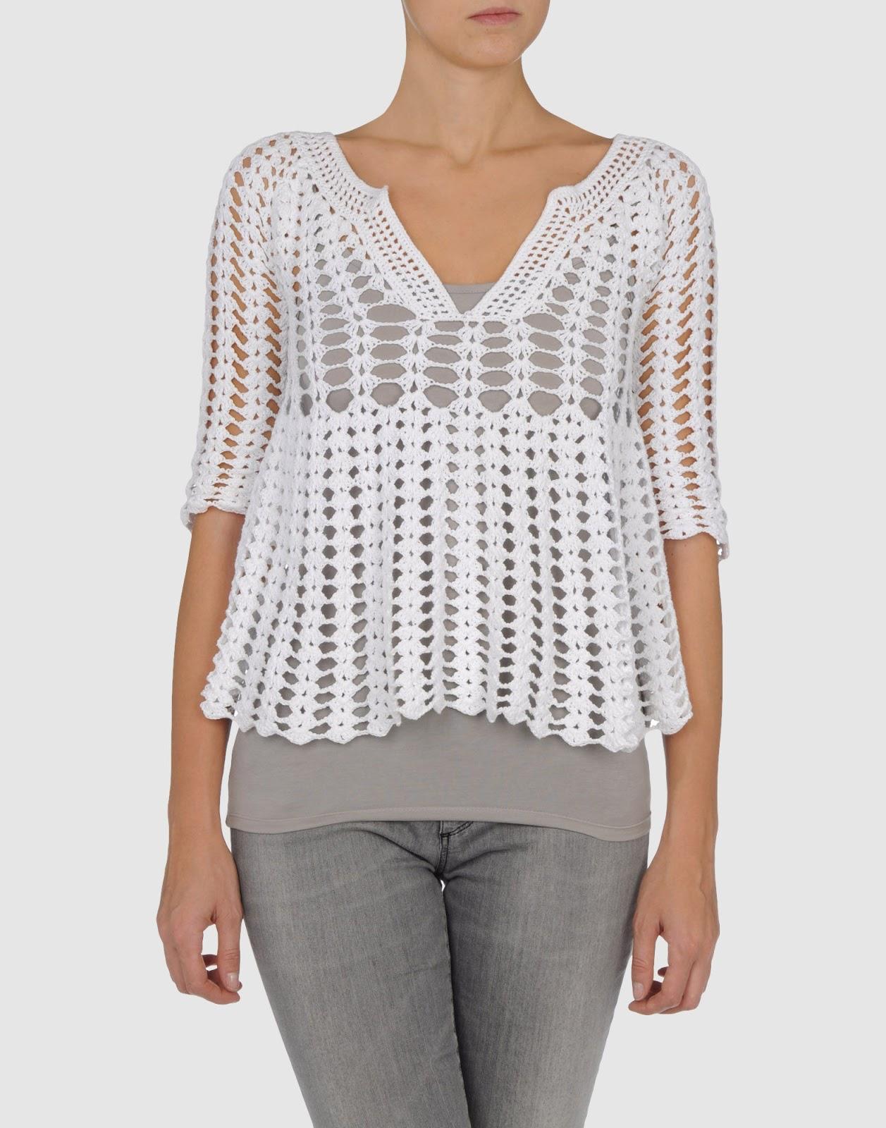 Mirad que blusa tan preciosa!!! Crochetemodax395