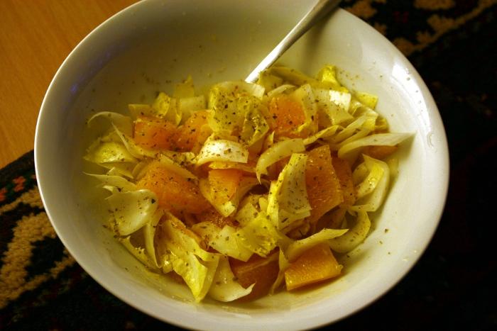 orangen chicoree salat transglobal pan party. Black Bedroom Furniture Sets. Home Design Ideas