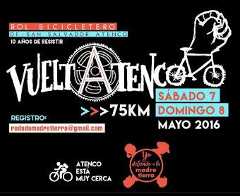 A 10 años del #MayoRojo Caravana de la Ciudad de México a Atenco en coche