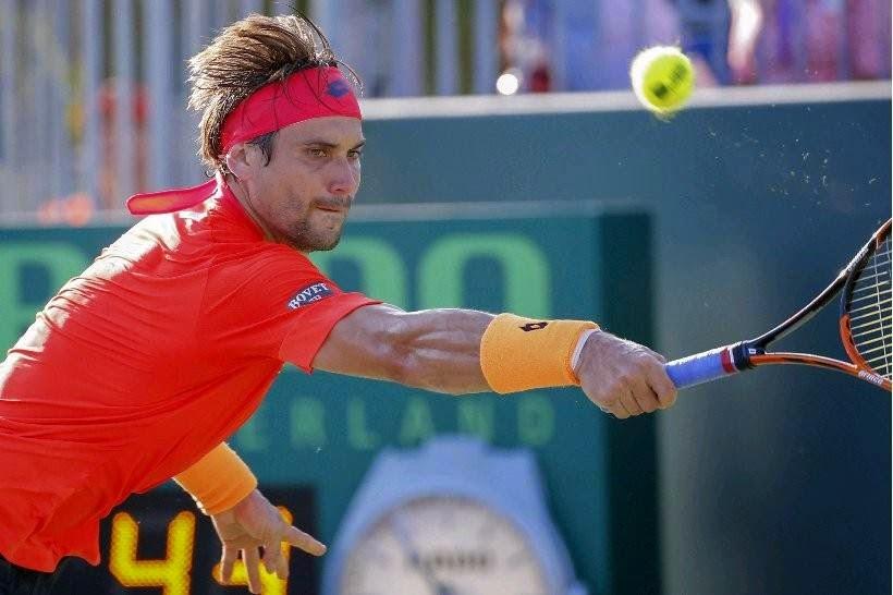 TENIS - Ferrer avanza y Verdasco se despide
