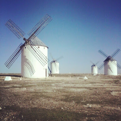 Windmills of La Mancha, Spain