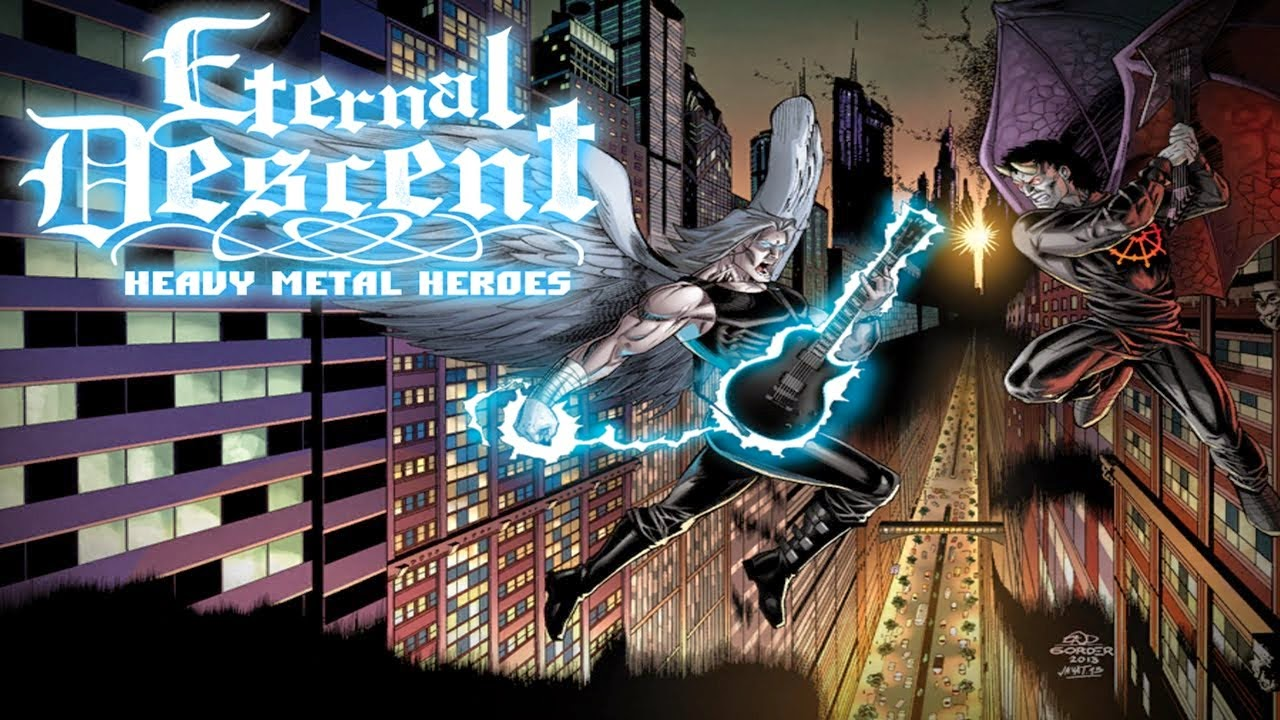 ETERNAL DESCENT: METAL HEROES V1.3 APK FULL