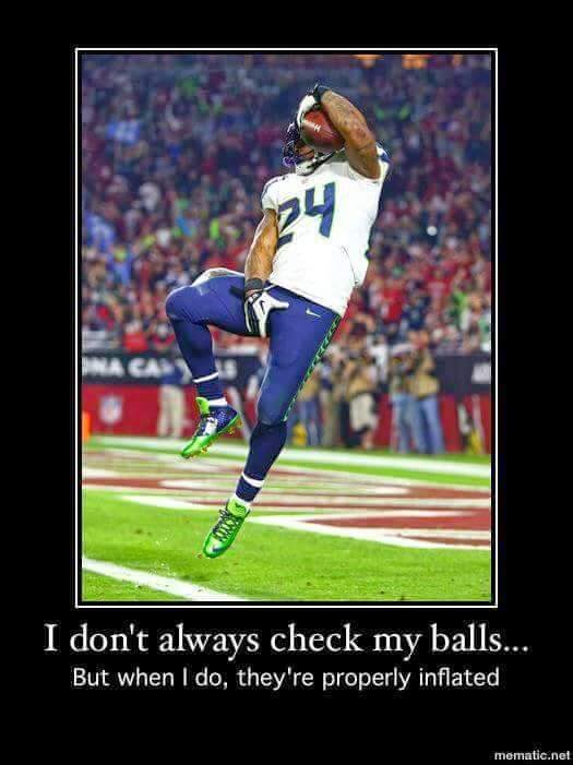 I don't always check my balls... But when I do, they're properly inflated