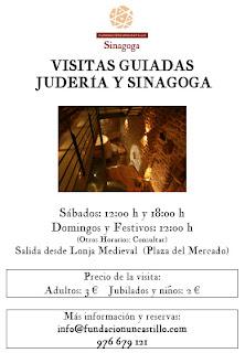 Visitas Guiadas Judería y Sinagoga Medieval de Uncastillo