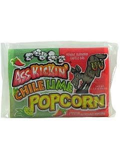 Ass Kickin' Chile Lime Popcorn