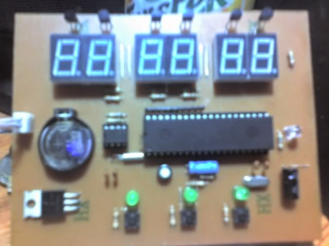 update project mcu real time clock ds1307 s52 89!