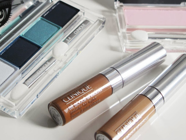All About Shadow Primer for Eyes y sombras de ojos de Clinique