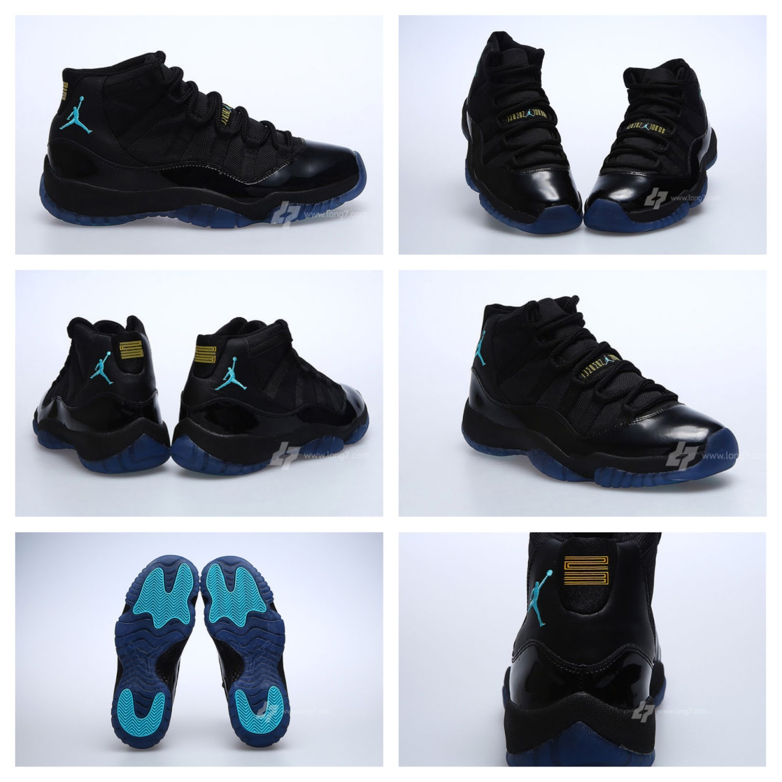 retro 11 gamma blue fake vs real diamond