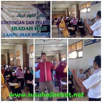 Edukasi kesehatan jamaah haji kbih  lampu iman kota kerrawang bersama gemahati dan susu haji sehat