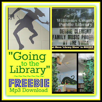 "photo of: FREE Mp3 of song ""Going to the Library"" by Debbie Clement"