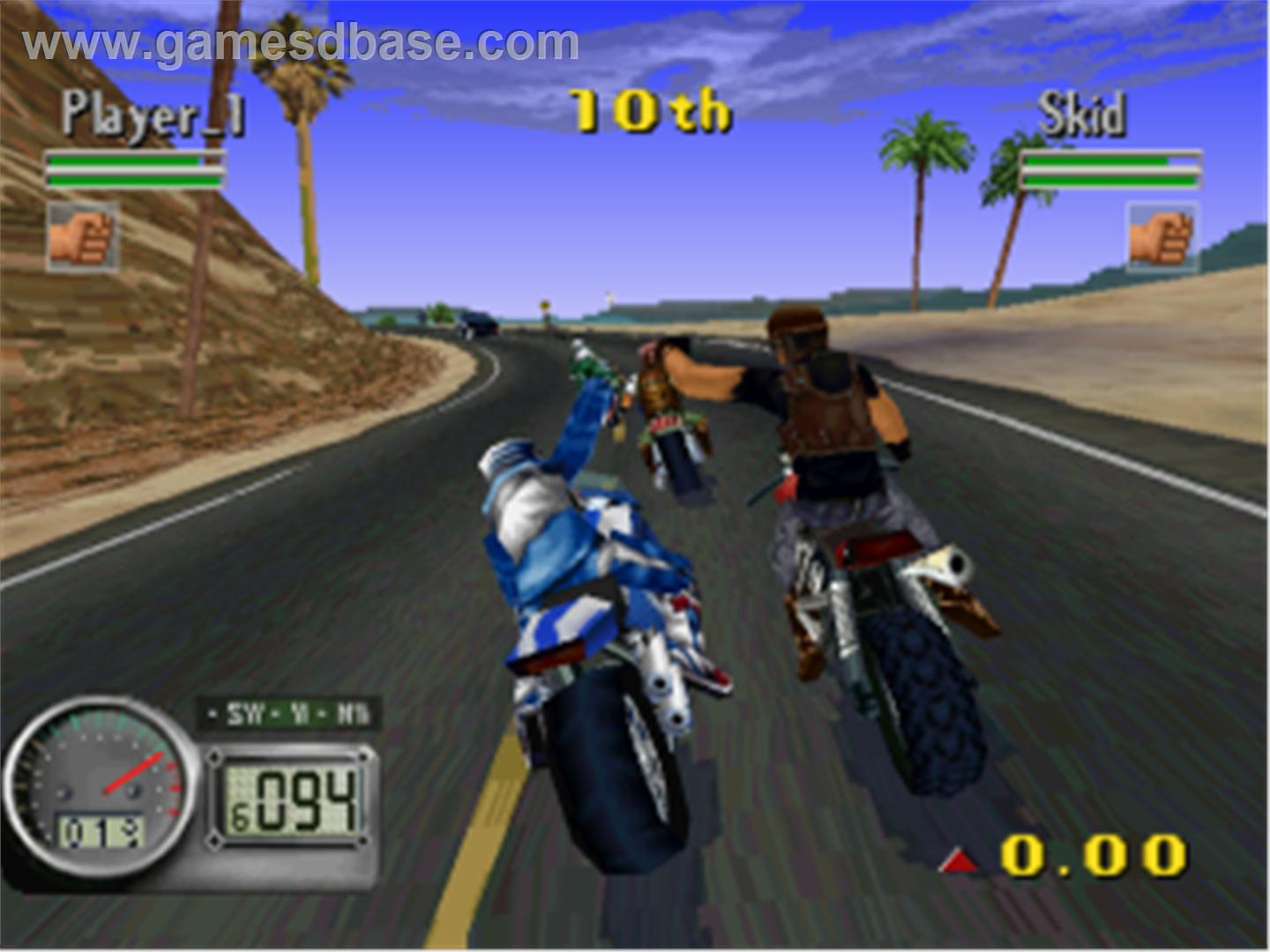 Play road race games