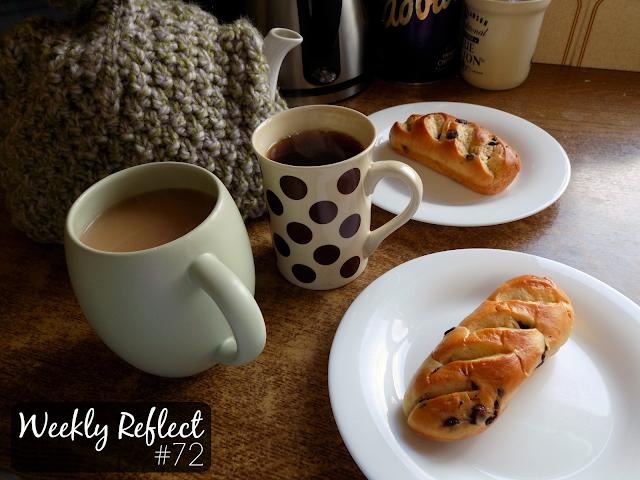 Tea & chocolate brioches