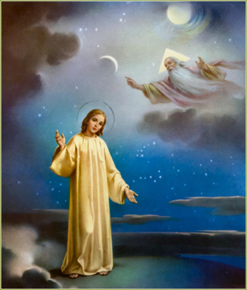 Creo en Dios Padre Todopoderoso, Creador del Cielo y de la tierra,