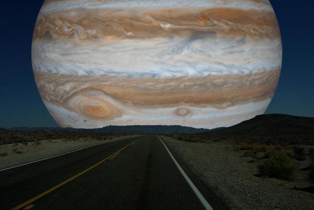 visão de Júpiter