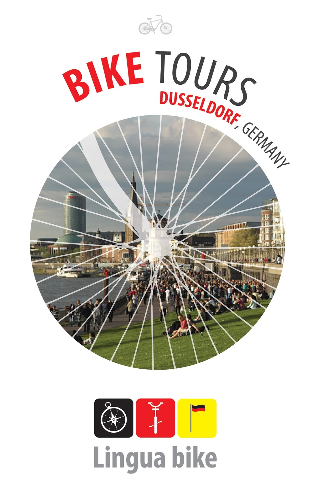 Bike tours round Dusseldorf
