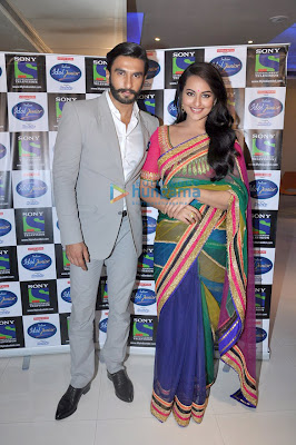 Promotions of 'Lootera' on the sets of Indian Idol Junior