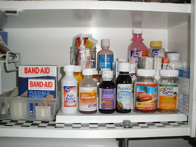 Medicine+cabinet+after Where is the *&#%$ Tylenol?!! (Dos and Donts for organizing the medicine cabinet)
