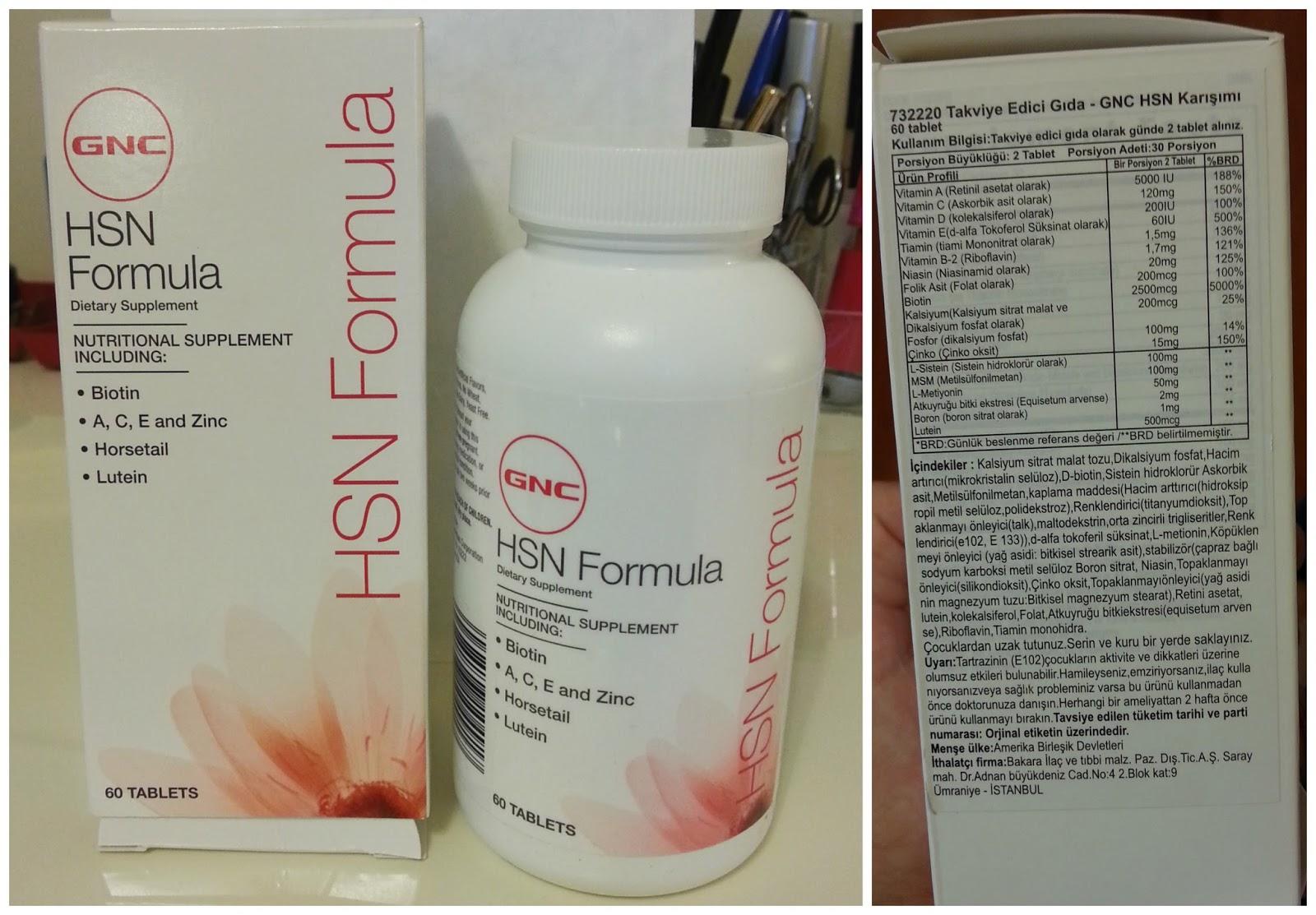 hsn formula vitamin kullanan