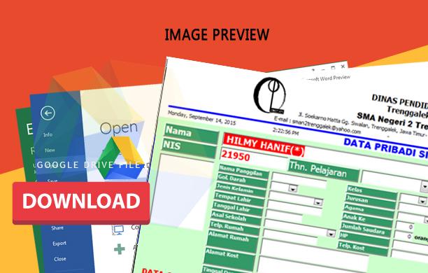 Aplikasi Perangkat Bimbingan Konseling Bk Himpunan Data Smp Dan Sma Blog Edukasi