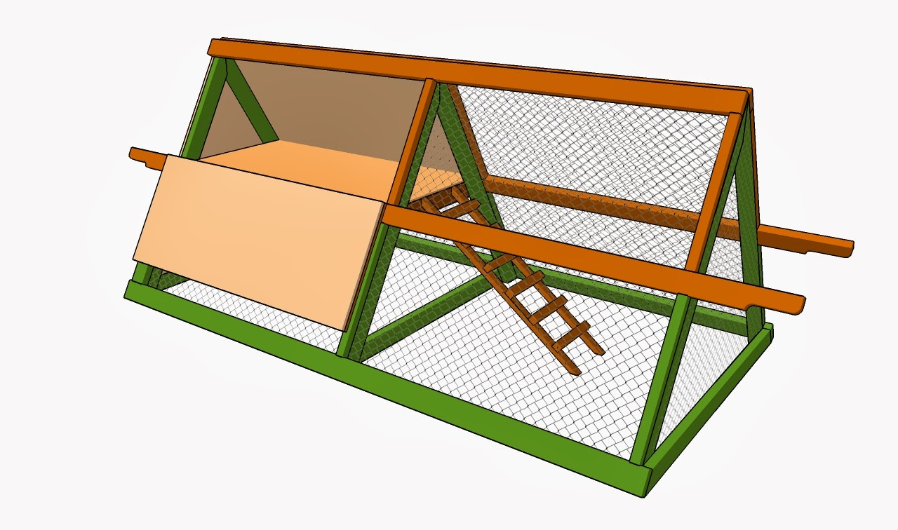 Chicken house plans chicken coop design plans Make your own hen house