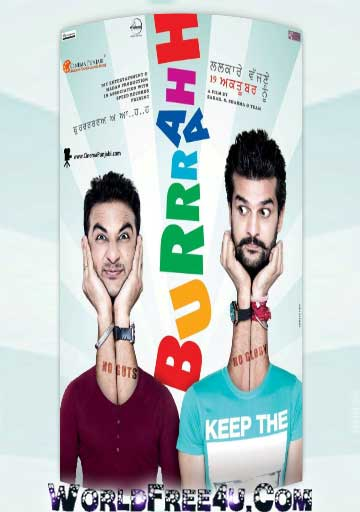 Poster Of burrah (2012) Full Punjabi Movie Free Download Watch Online At worldfree4u.com