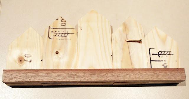bosch wieszak domki DIY krok po kroku majsterkowanie blog szczecin drewniane domki z recyklingu metamorfoza