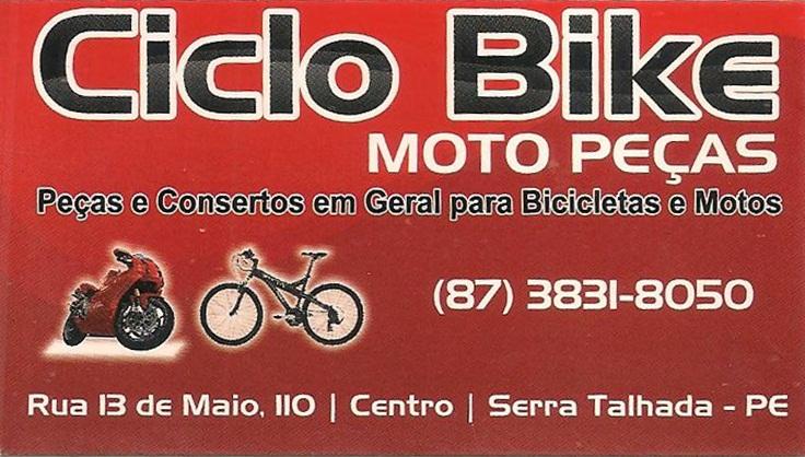 CICLO BIKE MOTO PEÇAS
