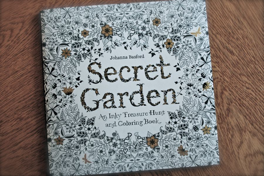 The Secret Garden Coloring Book By Johanna Basford