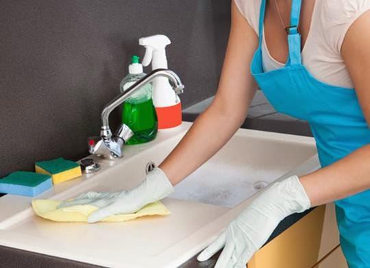 Com Arte e Amor Como limpar a pia da cozinha -> Pia Banheiro Limpar