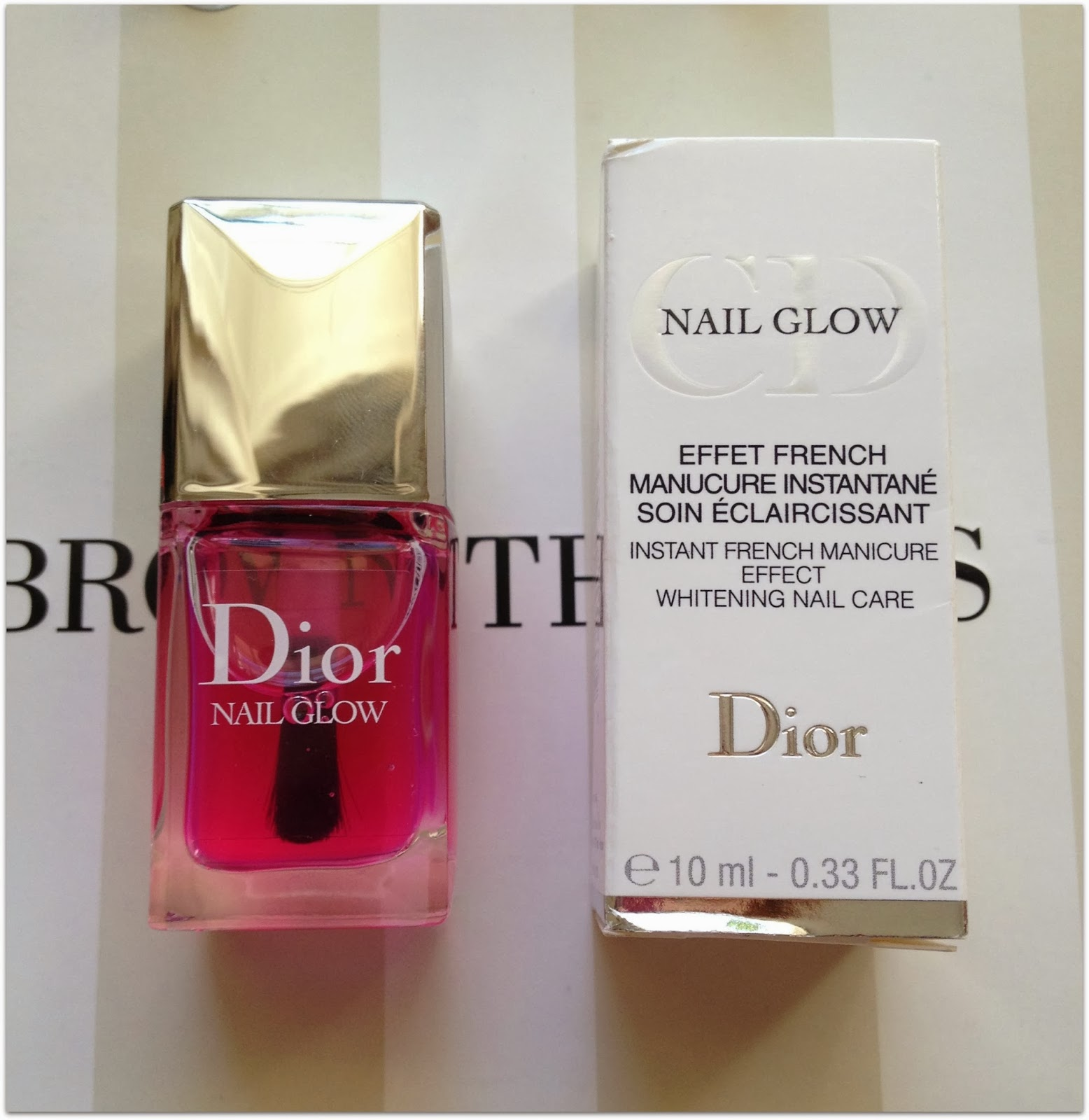 NFP: Dior Nail Glow | Review