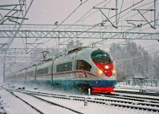 Поезд Лыжник, фото