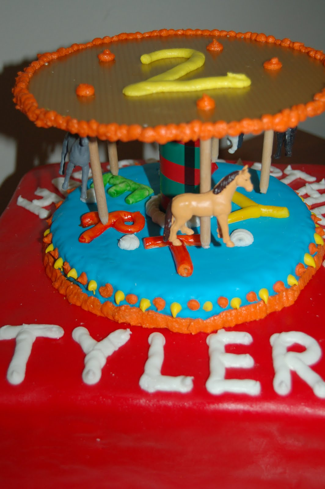 Happy Birthday Cake For Tyler