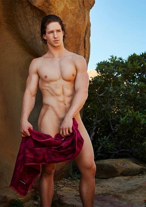 dna naked model