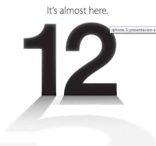 Lanzamiento y presentación del Iphone 5