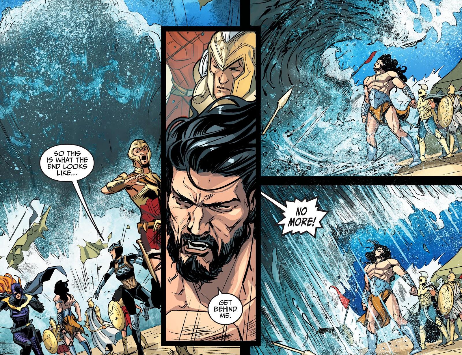 Injustice: Gods Among Us Year Four Issue #17 #18 - English 22