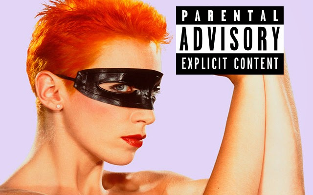 Annie Lennox explicit content rating image
