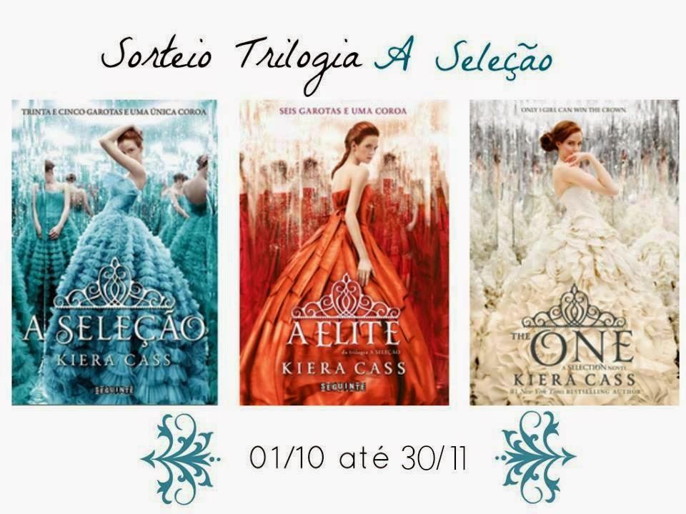 Sorteio, trilogia, A Seleção, Kiera Cass, livro