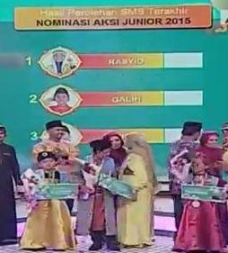 Rasyid Juara 1 Gilah Pemenang ke 2 dan Hikam Juara Ke 3