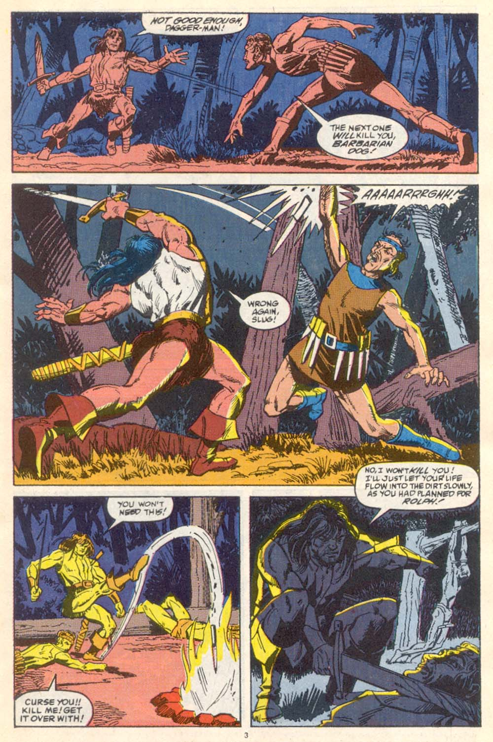 Conan the Barbarian (1970) Issue #222 #234 - English 4