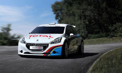 peugeot 208 t16 on the road photo